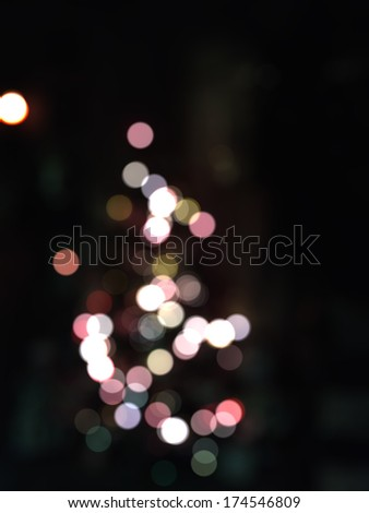 Abstract blurred background with pink bokeh effect. - stock photo