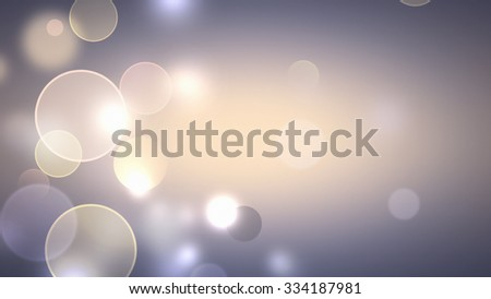 abstract blurred background with soft light bokeh effect - stock photo