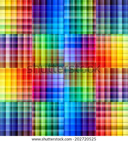 Abstract blurred background with strips. Blurred effect, bright colors. Rainbow gradient