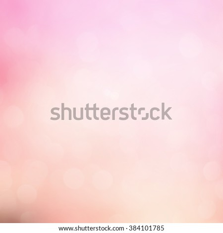 abstract blurred beautiful soft brightening pink background:blur old rose colorful backdrop:beauty shiny wallpaper with lucent bokeh light effect filter:vivid pastel tone image.square frame - stock photo