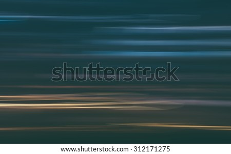 Abstract blurred city motion effect with vintage filter - stock photo
