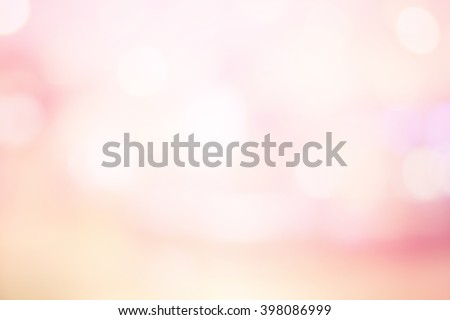 abstract blurred elegant soft brightening pink background:blur old rose colorful backdrop with bokeh lucent light:spotlight shiny wallpaper with lens flare light effect filter:vivid vintage tone image - stock photo