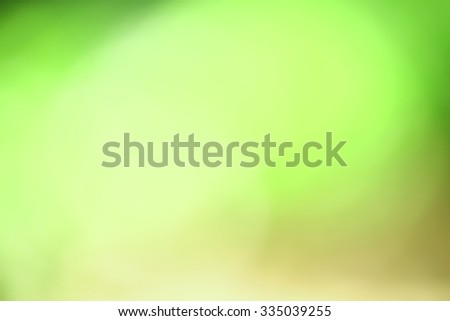 abstract blurred green natural background  - stock photo