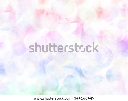 Abstract blurred lights on white background - stock photo