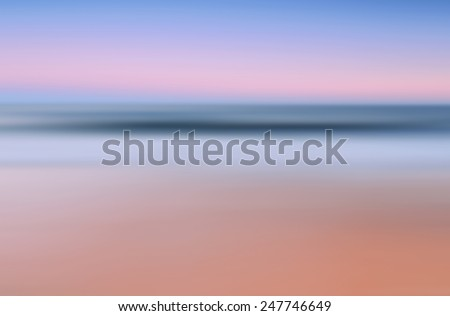 abstract blurred  natural summer background - stock photo