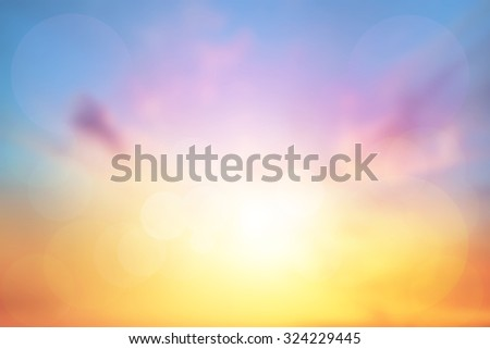 Abstract Blurred Nature. Abstract Blurred sky.Abstract Blurred Light - stock photo