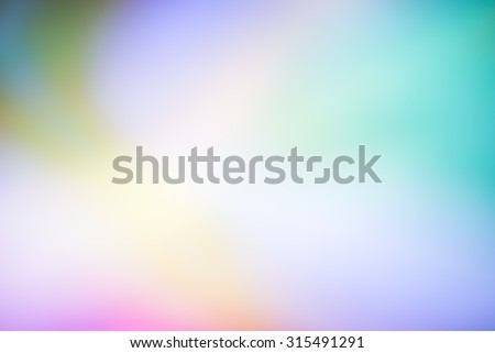 Abstract blurred soft colorful effect background for wallpaper or backdrop or webdesign - stock photo