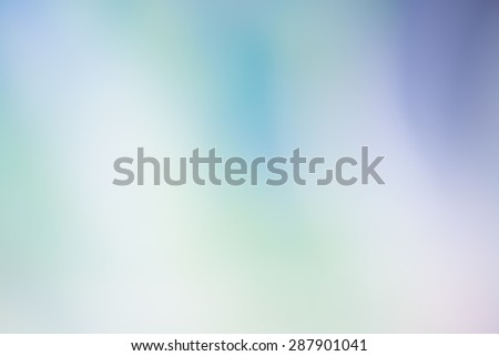 Abstract blurred spectrum green blue background for wallpaper or backdrop or webdesign - stock photo
