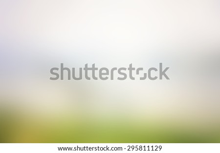 Abstract blurred textured background: yellow orange and green patterns. Blurred nature background. Beautiful oceans and bright sun light. Summer Holidays, World Environment, Earth Day concept. - stock photo