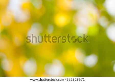 Abstract blurry autumn background - stock photo