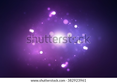 Abstract blurry bokeh background