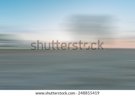 abstract blurry landscape useful as background
