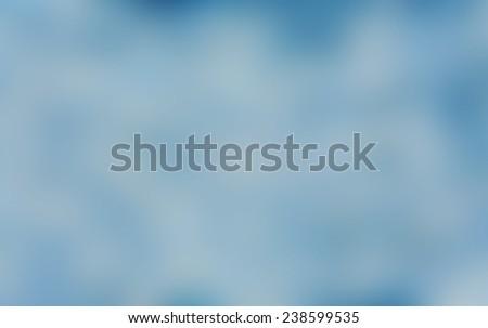 abstract blurry on indigo on blue background - stock photo