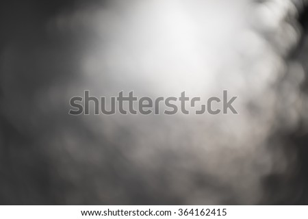 abstract bokeh background black and white. - stock photo
