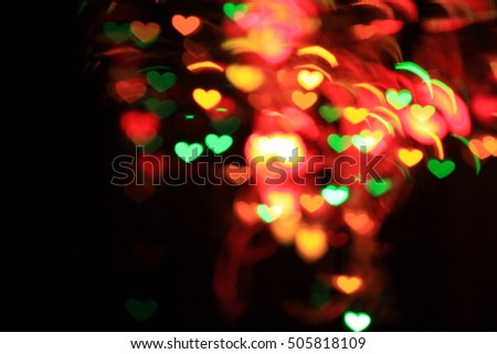 Abstract  bokeh background of Christmaslight , Festive Christmas Background - bokeh