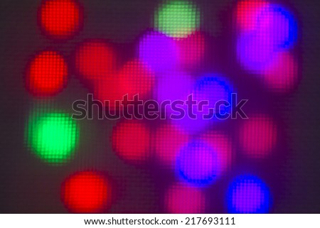 abstract bokeh background - Stock Image