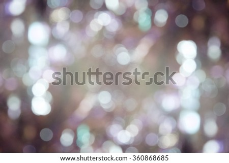 abstract bokeh background with purple tone. - stock photo