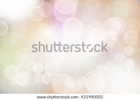 abstract bokeh blur for background - stock photo
