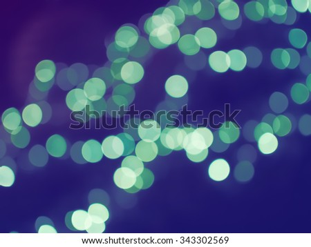 Abstract  Bokeh Christmas Lights Background.