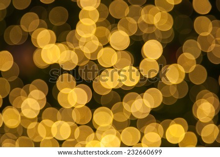 abstract bokeh circle background of city night