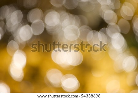 Abstract bokeh created in camera - stock photo