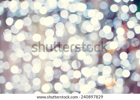 abstract bokeh light background. - stock photo