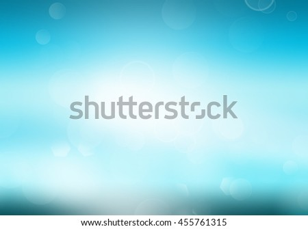 abstract bokeh light background in the sea. Summer concept.