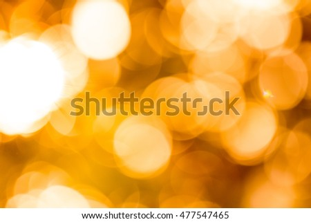 abstract bokeh of light