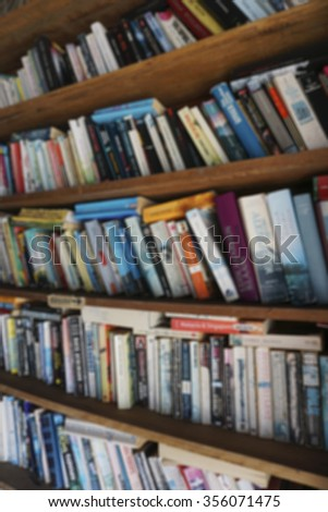 abstract bookshelf background