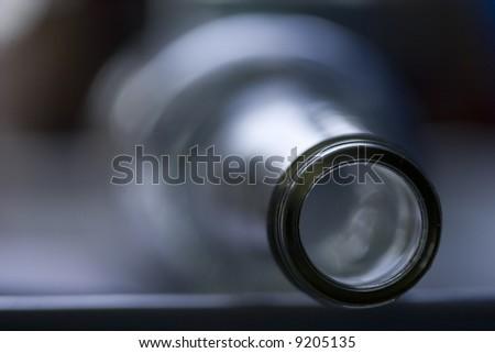 abstract bottleneck - stock photo