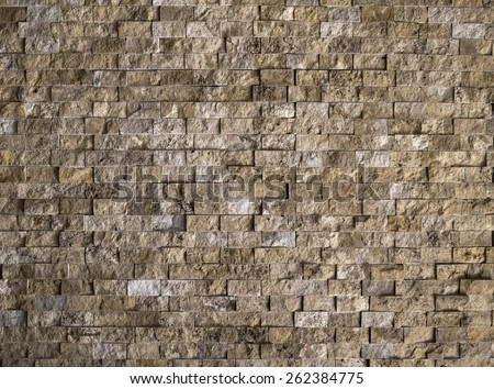 Abstract brick background - stock photo