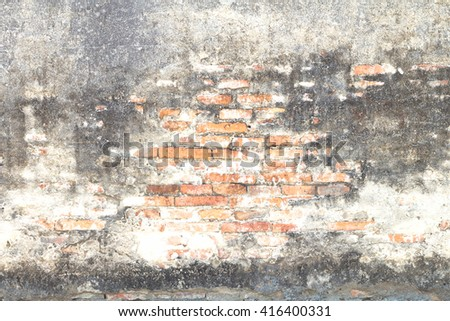 Abstract brick background. kitchen abstract office planks rustic wood globe balcony room natural veranda masonry grunge stone board job builder building cleared site seamless hallway - stock photo