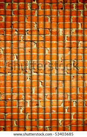 abstract brick pipes background