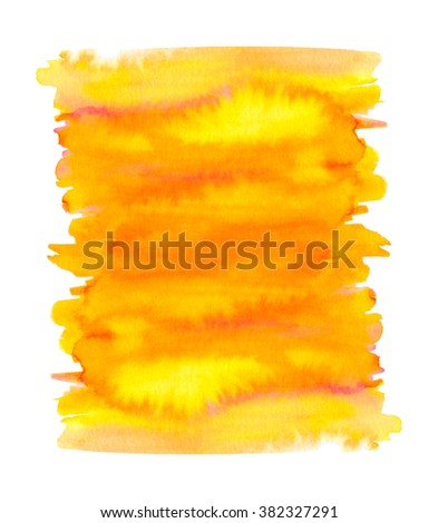 Abstract bright background. Watercolor hand painted texture.