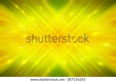 Abstract bright glitter gold background - stock photo