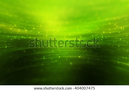 Abstract bright glitter green background - stock photo