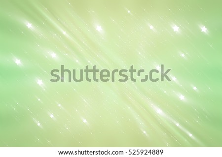 Abstract bright glitter green background. elegant illustration