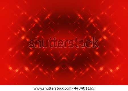 Abstract bright glitter red background
