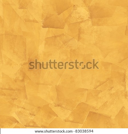 Abstract bright orange grunge background - stock photo