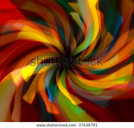 Abstract bright radial lines background - stock photo