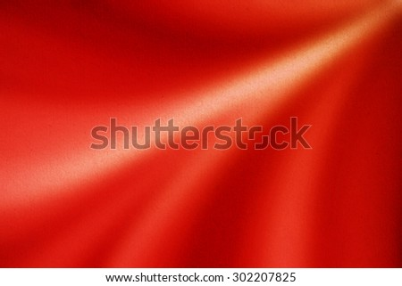 abstract bright red background with grunge paper texture - stock photo