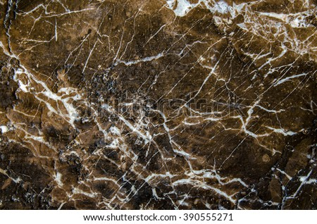 Abstract Brown and Black marble texture ,detailed structure of high resolution, natural patterned for design.