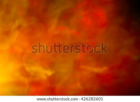 Abstract Brown and orange background