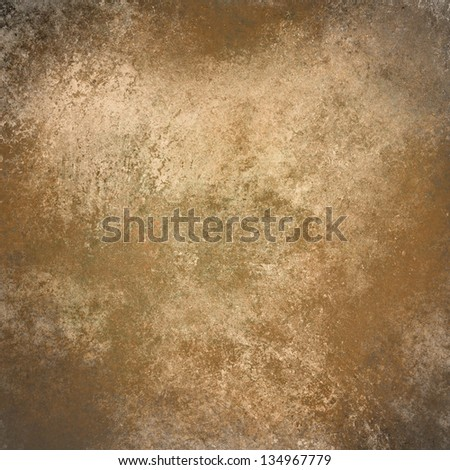 abstract brown background beige white color vintage grunge background texture design, elegant antique painted wall illustration brown paper web background template, background wall cement paint layout - stock photo