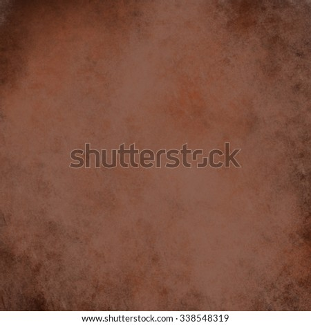 abstract brown background, country western style earth tone with vintage grunge background texture, dark brown paper with black grungy worn edges, rough distressed texture layout design for web - stock photo