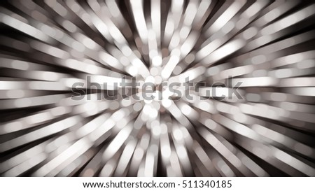 abstract brown background. fractal explosion star with gloss and lines. illustration beautiful.