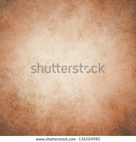 abstract brown background white beige center vintage grunge background texture sepia color paper brown bag material illustration, light brown tan background wall for sign brochure website poster image - stock photo