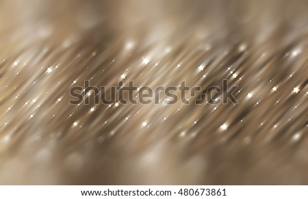 Abstract brown background with bokeh defocused lights. Effective illustration
