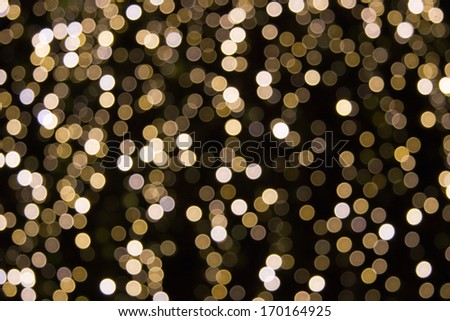 Abstract brown lights on background  - stock photo