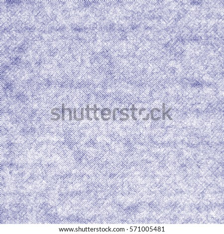 Abstract brushed  fabric textured background in blue tones. Seamless pattern.